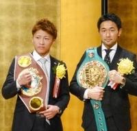 """12月31日、山中慎介VS井上尚弥が正式に決まりましたね。井上尚弥がバンタム級で3階級制覇を狙う!イエェェェーイ!!  大橋会長によれば、下半期の井上は秋に米国進出を果たし、日本ボクシング 界恒例の年末決戦では、バンタム級で3階級制覇を狙うプランも浮上しているという。そのバンタム級にはWBC王者の""""神の左""""山中慎介(34=帝拳)が君臨している。大橋会長は「山中戦に期待? ねえ。俺も期待し..."""