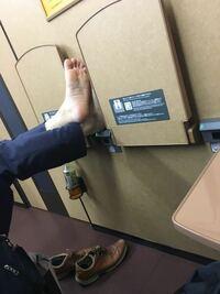 新幹線でこれはマナー違反ですか?