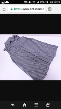 この袴で、書生風の格好は許されますか?