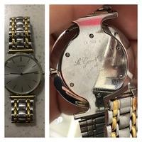 ラ グラン クラシック ドゥ ロンジンについて。 この時計を貰ったのですが、正式な型番や現在の価値と、買った当時の値段が分かる方はいませんか? 時計に詳しい方、こ願いします。