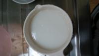 明日から離乳食です 10倍粥をレンジで作りました。 お湯を足して伸ばしながらつくったんですがこんな感じであってますか?  水分が多すぎでしょうか?