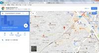 Googleマップを起動させると、画面に意図しない場所の地図が表示されます。添付画面が起動時の初期画面です。私は長野県在住なのですが、自分の居住地の地図に設定したいと思っております。 何方か、この設定手順...