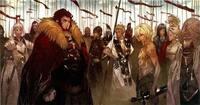 fate/zeroの王の軍勢の金髪の英霊について画像の王の軍勢の金髪で剣 ...