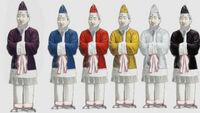 (`∇´)【大喜利】   『冠位十二階』の巻   ○飛鳥時代。聖徳太子は冠の色を十二段階に分け、日本初の身分制度を作った。   [問題] 最低の役人に与えられた『被り物』とは?