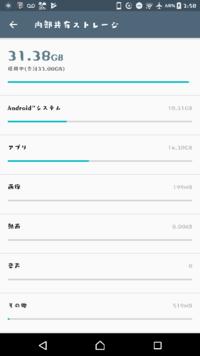 Xperia xzがゴミすぎて困ってます。 いつも重いです。操作カクカク。容量32Gをほとんど使ってるからですかね?iphoneだとこんなにカクカクならないと思うんですが… こまめにメモリ解放しているし、キャッシュも消してます。   「だから私はXperia」というcmを信じてXperiaを買ったのに。やっぱりAndroidはだめ…   あと、Androidシステムに10Gも使われているのは...