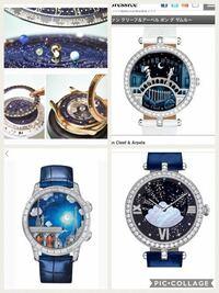 ヴァンクリーフの時計のような凝ったデザインの時計を探しています。 タイトルの通りです。 本物のヴァンクリーフには到底手が届かないので、同じ雰囲気の凝ったデザインの腕時計ブランドを教えて下さい。
