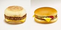ソーセージマフィンとチーズバーガー、どっちが好き?