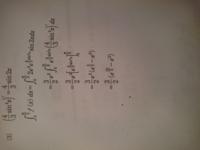 積分計算の過程が分かりません。 ( )'の部分はどこにいったんですか?