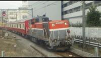 よく京浜東北根岸線内で使われる甲種輸送の機関車の回送のスジを教えて下さい!