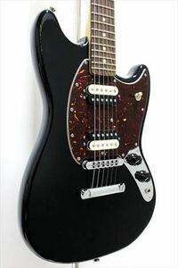 [このギターの感想を聞かせて下さい] Fender USA American special Mustangを使っています。手が小さいのでショートスケールのムスタングは手に馴染み、とても気に入っています。ハムバッカーとシングルコイルをタップで切り替えることが出来るのでフロント・センター・リアで全部で6種類の音作りができます。黒が基調でべっ甲色のピックガードもいいなと思い3年前に購入しました。...