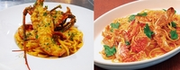 イセエビのパスタとワタリガニのパスタ、どっちが食べたいですか?