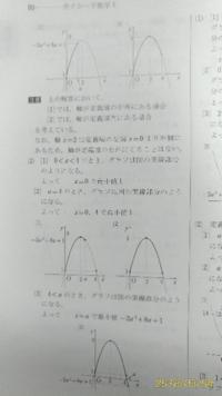 数学Ⅰのサクシードについての質問です。 問題 aは正の定数とする。  y=3x^2+8x+1(0≦x≦a)について次の問題に答えよ。 (1はわかったので飛ばします。) (2)最小値を求めよ。  この問題の解説が意味がわかり...
