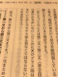 現代文の参考書の現代文と格闘するの三訂版で マスナス面と記されていますがこれはミスなの でしょうか。