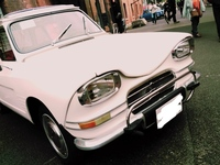この旧車の車種をおしえてください。