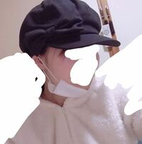 [画像あり]キャスケットを被ると頭が大きく見えます 画像の通りキャスケットやベレー帽を被るとマリオのキノピオみたいになります… 顔は横幅が広く頬骨が横に張っています。 同じような顔の形でも似合っている人...