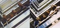 レコード(CD)のジャケットで昔の写真と同じ構図で撮ってる写真を使ってるジャケットといえばビートルズの階段の写真が有名ですが、他にどんなものがあるかご存知ですか? 私が知ってるのは「トワ・エ・モア」「...
