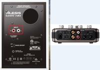 オーディオIFとスピーカーを繋ぎたいです。 オーディオIF:TASCAMus-366 スピーカー :Alesis ELEVATE3MKⅡ  PCとオーディオIFをUSBケーブルで繋いで、オーディオIFとスピーカーはピンプラグで繋ぎましたが音が...