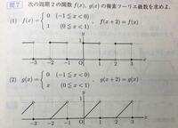 複素フーリエ級数を求める問題を教えて下さい。 下の写真の問題の解き方を教えて下さい。 できれば、途中式もお願いします。