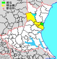 茨城県那珂郡と神奈川県中郡の関係を教えて下さい。 前者:東海村(原発のあるところ)1村のみ。 後者:大磯町・二宮町の2町のみ。