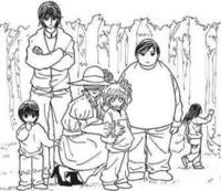 この写真の一番左の子と一番右の子は誰ですか?