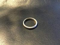 18金の結婚指輪がくすんでしまいました。26年間ピカピカだった指輪が、今朝くすんでいるのに気づきました。外側はつやがなく白っぽく、指に触れている内側のみ少しピカピカの部分が残っています。 昨日の作業で心当たりがあるのは、酢+塩で純銅のゴミ受けを洗う。風呂場のカビをカビキラーで湿布する。の2つだけ。いずれも、手袋をせず、素手で触っていました。これがいけなかったのでしょうか? 原因についてお分か...