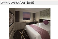 ホテルのベッドについてなのですが お部屋が「スーペリアダブル」となっており、広さ19㎡、ベッドサイズが160cm x 200cmと記されております。 利用人数が1名様~2名様と記されてますが 女の 子2人、(1人は70キロひとり は50キロくらい)で同じベッドで寝れる広さでしょうか? ライブに行くため教えて頂きたいです。 よろしくお願いします。