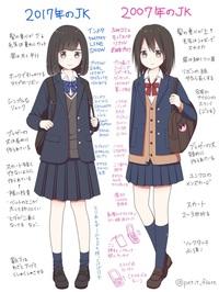 女子高校生が制服のミニスカートの中に着る、黒や紺の一分丈スパッツやブルマー、短い紺色ソックスは、制服を買う時に初めからセットなのですか?
