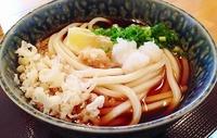 こんにちは 冷やしぶっかけうどんに おにぎりふたつと 天ぷら1品 皆さんなら それぞれ何を選びますか??