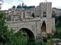 ヨーロッパの古い町並み。