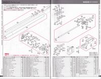 東京マルイ VSR-10 のマズルアダプターについて質問させて頂きます。  東京マルイ VSR-10プロスナイパーバージョンのアウターバレルに、同社M40A5 マズルブレーキアダプター(画像 パーツリス トNo.104)を取付...