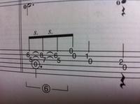写真のグリッサンドのコツを教えてください。音符のように左から右から左へと一気に引く時、音が消えてしまいます。コツがありましたら教えて頂きたいです。よろしくお願いします。