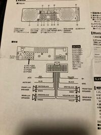 平成13年式s210p 前期ハイゼットトラックのオーディオ配線についてわかる方教えてください。 純正ラジオを取り外しカプラーに8本の配線がありました。 各色なにの配線かわかりません。 わかる方教えてください。...