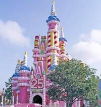 ウォルトディズニーワールド 25thのシンデレラ城ってこんなだったんですか? なぜこんな装飾にしたのでしょう?
