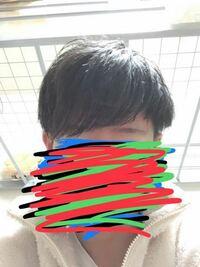 このマッシュヘアは このままで大丈夫だと思いますか?  自分男子高校生なんですけど、 ヘアセットに自信なくて、  マッシュはセットなしでこのままな感じでいいのかなって  韓国人みたいにしたいので