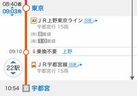 宇都宮線のグリーン車の土曜日の混雑具合について教えてください。 東京9時3分発の宇都宮線のグリーン車で、東京から宇都宮まで行く予定です。 混み具合をご存知の方、教えて下さい。 よろしくお願いします。