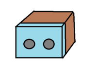 ガンダムマーカーエアブラシシステムを使用して塗装をするための塗装ブースを自作しようと思うのですが、画像のようなものだとどのような問題がありますか? 段ボールの一つの面を手を入れる用の穴をあけた透明な袋で覆い、箱の中で塗装するつもりです。  野外で使用します。塗料はガンダムマーカーなのでアルコール系です。  全塗装するわけではなくて、小さいパーツやシールで表現されているラインなどを塗る...