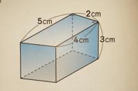 この体積の求め方が分かりません。 この体積の求め方を教えてください