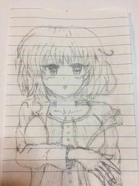 イラスト評価よろしくお願いします。中学生が描きました。