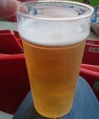 スタジアムでの試合観戦をする日、ビールを飲みますか?飲む方は、試合前、試合中、試合後いつですか?どのくらい飲みますか?  また、自宅でテレビで視聴する際、どうですか?