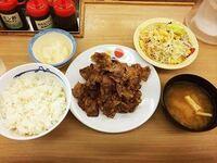 カルビ焼肉定食 カツ丼 どっちが好き?