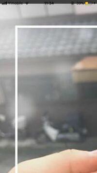 【インスタ加工】 写真のように、画像の中にさらにほそい正方形?を作る方法わかる方教えてください