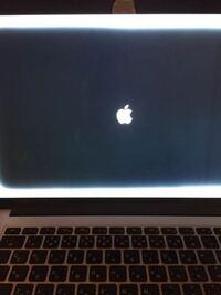大至急! macの液晶が四角い白い枠に覆われて治りません! 解決策を教えて下さい!