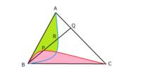 今年の京大の入試問題です。 暗算で数秒以内に答えが出せる方がいらっしゃいましたら、 入試問題の答案を想定して、計算が最小限の模範解答を作ってください。 . 問題:面積が S の △ ABC で、線分 AC を t : ...