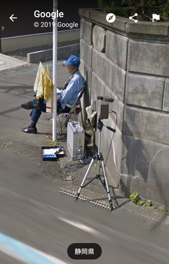 ストリートビュー見てたらネズミ取りか移動式オービスみたいなの発見したんですが合ってますか?