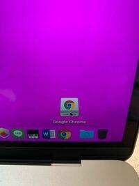 """MacBook初心者です。 Google chrome のインストローラみたいな奴をデスクトップから消したいです。  ゴミ箱に入れても、(ディスク""""Google Chrome""""を取り出せませんでした。""""Google Chrome""""でこのディスクを使用中です。そのアプリケーションを終了してからディスクの取り出しをやり直してください。)と出ます。  よろし..."""