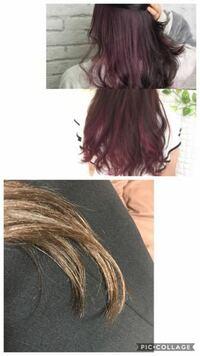 茶髪に紫と青のカラーバターで染めた場合のヘアカラーの発色について詳しい方がいらっしゃいましたら教えてください。 エンシェールズのショッキングパープルを持っています。 これにマニパニの青(どのカラーにす...