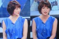 5月26日のフジテレビスポーツ番組S-PARK 宮司愛海ちゃんがこの暑さにぴったりのノースリーブ。 セクシーで これからもノースリーブで登場してもらいたいと思いました。 皆様はいかがですか?