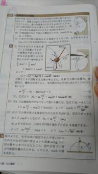 高校物理です! 例題16のかもこの問題の答えの図を見ると、 慣性力が右ななめ上に書かれているのですがどうしてこんな向きなのですか?? なぞです…解説お願いします!