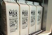 スターバックスで使われている西部酪農牛乳の加工乳は非売品ですか?非売品ならスタバで使われている加工乳に一番近い市販で売られているものを教えてください!