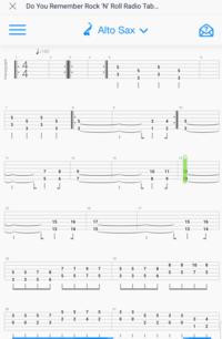 このアルトサックスの楽譜をトランペット用に変えたいのですが、どのように変えればよいのでしょうか? この楽譜の読み方さえわかりません。  ピアノはやっていたので五線譜はある程度読めます。管楽器は初心者で...